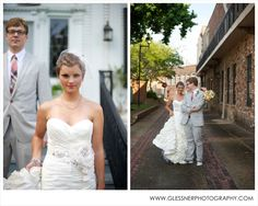 Our last blog post of the year! 2012 Wedding Review :: Featuring brides from Nashville, TN; Laurel, MS; High Point, NC; Greensboro, NC; Winston-Salem, NC; and the greater Washington DC area :: Glessner Photography :: Shown here: Lily and Adam's Laurel, MS wedding at Pinehurst Park and the Laurel Train Depot   birdcage veil   plaid tie   pink and blue plaid tie   grey grooms suit