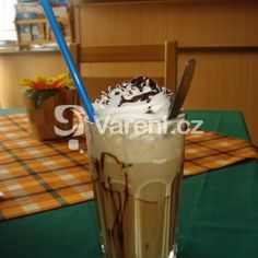 Fashion and Lifestyle Frappe, Smoothies, Food And Drink, Ice Cream, Pudding, Drinks, Cooking, Desserts, Recipes
