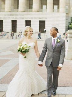 Washington DC Wedding Ceremony 275x374 Modern Meets Vintage Wedding Ceremony in Washington DC: Jessica + Ian