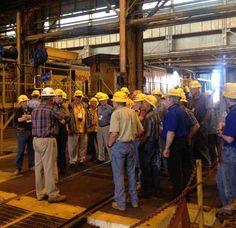 Model Railroaders visit UP Davidson Yard Shop in Fort   Worth.