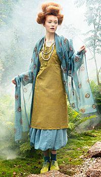 Gudrun Sjoden - Versatile Linen Dress, view A