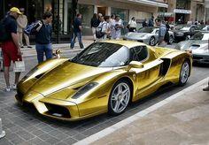 ☆ Ferrari Enzo Gold Oooohhh...☆