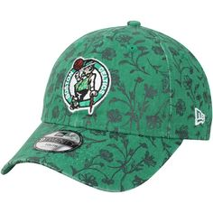 innovative design 19e6d 1ce5d ... shopping boston celtics new era girls youth floral peek 9twenty  adjustable hat kelly green bostonceltics 85c68
