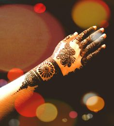 Beautiful mehandi..