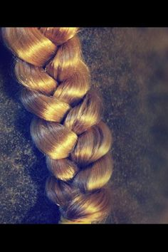 Beautiful braid! The secret to a perfect braid is to WIDEN IT! PIN BECAUSE YOULL BE HAPPY YOU DID ONE DAY