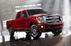 2013 Super Duty Platinum The only one she mentions everytime she sees one...what have I created?