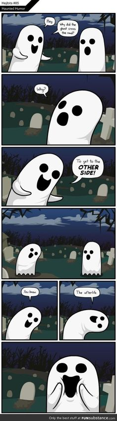 Haunted humor