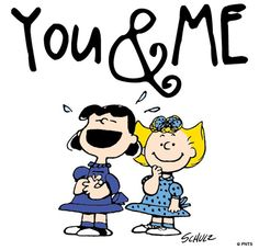 You & Me friendship snoopy