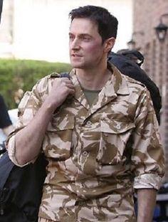 Richard Armitage as John Porter in Strike Back: Season 1 - BTS (2010)
