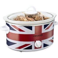Crock-Pot Union Jack Slow Cooker, 3.5 Litre, Limited Edition: Amazon.co.uk: Kitchen & Home