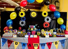 Transformer's Birthday Party - so cool!