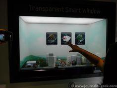 Le Samsung Transparent Smart Windows en vidéo