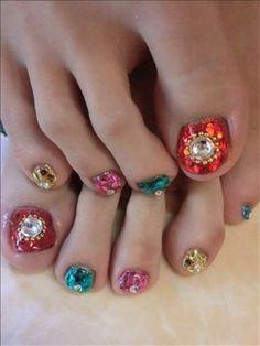 Wedding Toe Nail Art Designs Ideas 2014 1 Wedding Toe Nail Art Designs & Ideas 2014