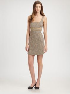 Tweed Dress - Lyst
