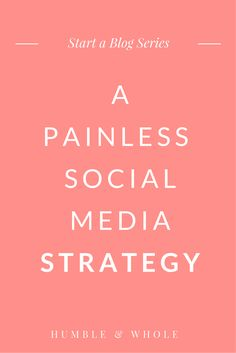 Is your blog's social media presence stressing you out? Developing an effective social media strategy for your blog doesn't have to be difficult. Click through to discover easy ways to narrow down the social media platforms you actually need and how to build an audience! (scheduled via http://www.tailwindapp.com?utm_source=pinterest&utm_medium=twpin&utm_content=post119192221&utm_campaign=scheduler_attribution)