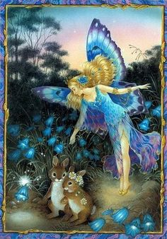 When you think you see a glint, or a wisp, or a whirl, you might have just seen a wee fairy! B