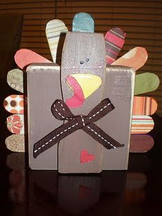 How to make a wooden turkey decoration turkey for What type of cardboard are cereal boxes made of