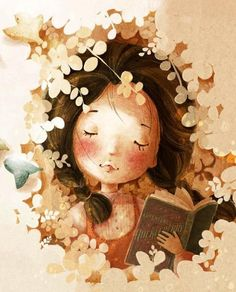 girl reading. For more book fun, follow us on Pinterest & Facebook www.facebook.com/booktasticfun