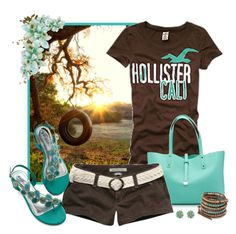 """Untitled #1531"" by smylin ❤ liked on Polyvore featuring moda, Hollister Co., Tiffany & Co., Abercrombie & Fitch y Chan Luu"
