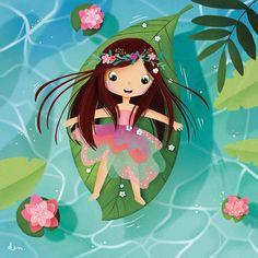 Youth Illustrator, Book of Illustrations Illustration Mignonne, Children's Book Illustration, Character Illustration, Cute Girl Illustration, Cartoon Drawings, Cartoon Art, Cute Drawings, Cartoon Ideas, Little Girl Illustrations