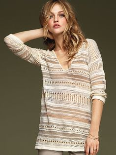 (Corporate example) Crochet Tunic