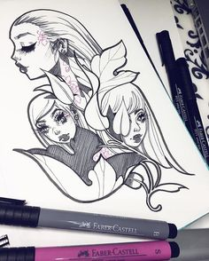 New YouTube video up on my channel!!! (link in bio) ☺️ This one is more of a process video ✍️ • I hope you all like it! I'm having a great time with #inktober this year lovelies • Thanks for all of your support lately ✨ #inktober2016 #graphicartery #sketch #sketchbook #ink #drawing #instaart #illustration #art #myart #artoftheday #tattoo #artcollective #occult #witch #artist #tattoos