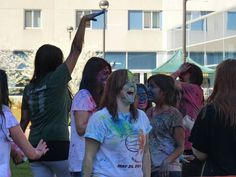 HOLI 2012, Festival of Colors at Wayne State University
