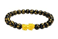 Bratara Pi Xiu si mantre de obsidian, onix negru sau ochi de tigru Mantra, Bracelets, Jewelry, Jewlery, Bijoux, Schmuck, Jewerly, Bracelet, Jewels
