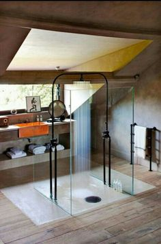 Very nice shower concept