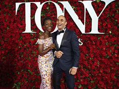 Pin for Later: Lupita Nyong'o Makes a Stunning Appearance at the Tony Awards