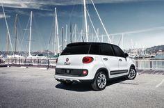 Dużo miejsca dla Twojej 5-osobowej załogi! #Fiat #Fiat500L #500L