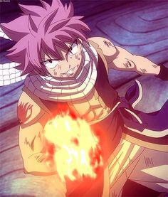 Fairy Tail - Natsu // I got a fire in mah belly!