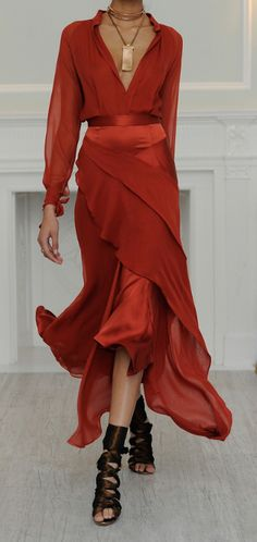 Fall 2013 Juan Carlos Obando http://findgoodstoday.com/womensfashion  Change the shoes!!!