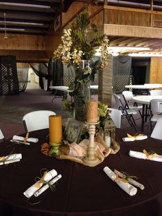 "Tablescapes for Junior Auxiliary Charity Ball ""An Evening in Tuscany"""