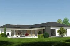 Beautiful House Plans, Beautiful Homes, Home Reno, Interior Exterior, Home Kitchens, Home Office, Sweet Home, Layout, House Design