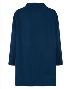 Wool Reversible Duster Coat - null - Product Back Image