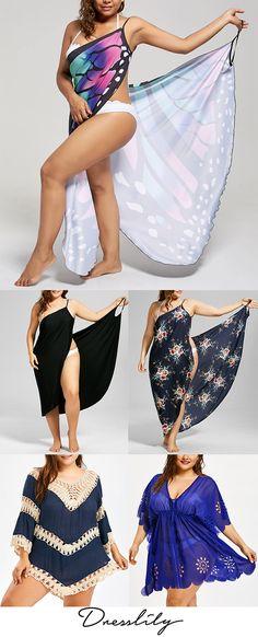 Plus Size Beach Cover-up Wrap Dress. Plus Size Beach, Plus Size Swim, Plus Size Maxi, Plus Size Bikini, Plus Size Cover Up, Swim Cover Up Dress, Crochet Cover Up, Beach Cover Ups, Indian Beauty Saree