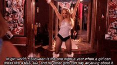mean girls halloween costumes Car Pictures Mean Girls Halloween Quote, Mean Girls Halloween Costumes, Mean Girls Movie, Halloween Scene, Cute Costumes, Halloween 2018, Costume Ideas, Girls World, Girls Life