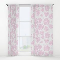 Buy #005 OWLY pink leafs seamless pattern Window Curtains by owlychic. Worldwide shipping available at Society6.com. Just one of millions of high quality products available. #curtains #textiles #livingrooms #products #today #owlychic #curtain #hanger #window #window #covers #livingrooms #decors #building #product