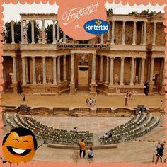 ¿En qué fontastic ciudad de España, declarada patrimonio de la humanidad se encuentra nuestra naranja viajera?