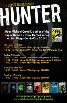 My San Diego Comic-Con 2014 schedule!