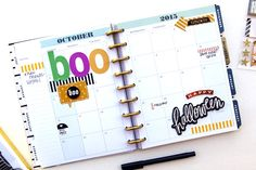 'boo' monthly spread