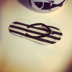 Slippers & stripes