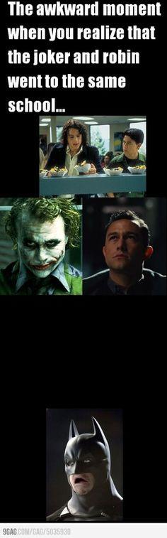 Batman's face though...