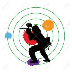 Image result for paintball silhouette