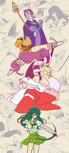 Inuyasha main characters