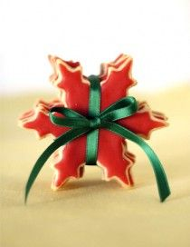 Sugar Cookie Snowflakes from Arcadia Farms Cafe
