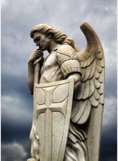 My favorite image of St. Michael the Atchangel❤️