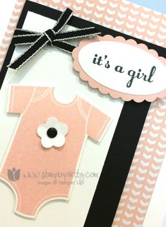 Stampin up stampin' up! mary fish something for baby cards