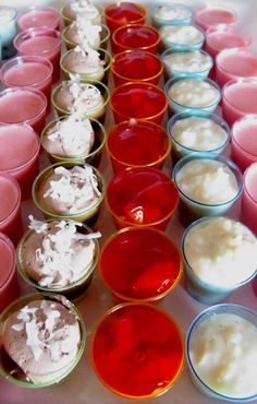 cheesecake/cherries rice pudding/cinnamon/banana pudding/shortbread cookie